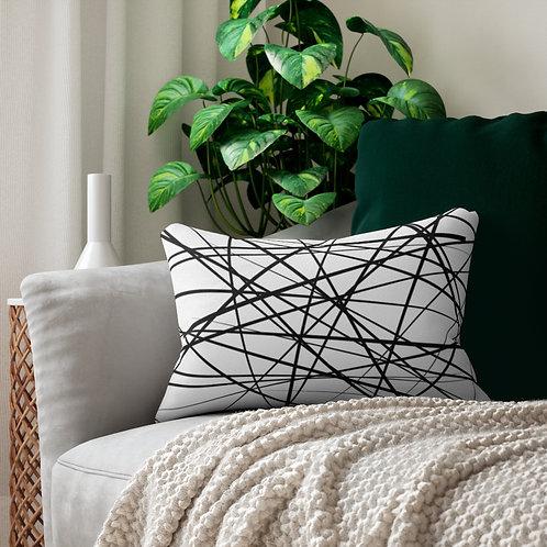 Lumbar Pillow-Chaotic Lines