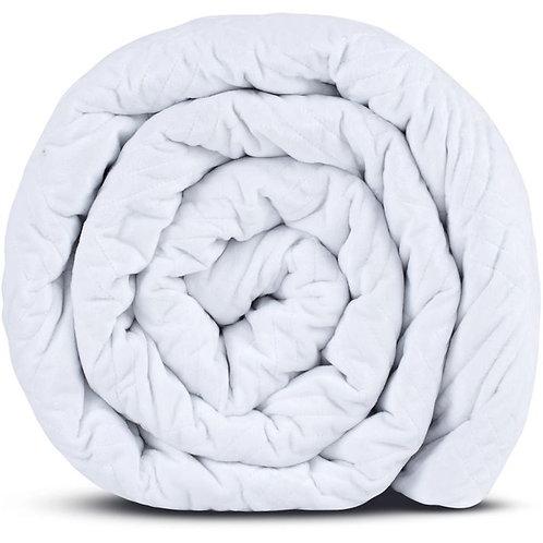 Hush Classic Blanket - Queen 20lb | White