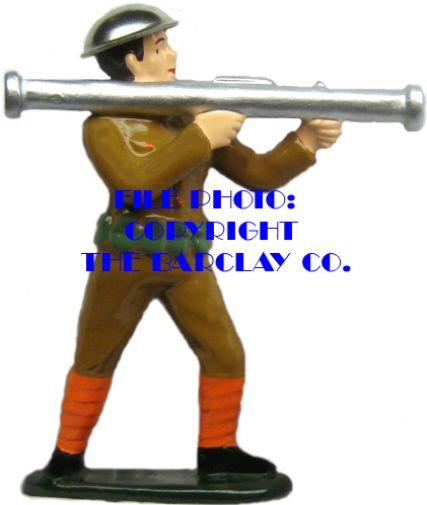 #6011 - Soldier w/ Bazooka
