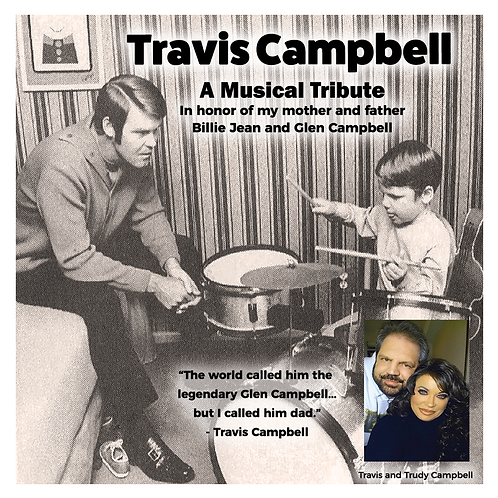 SIGNED CD - Travis Campbell: A Musical Tribute in Honor of My Mother and Father