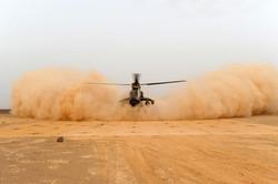 Tigre Helicopter landing on Mustmove Hel