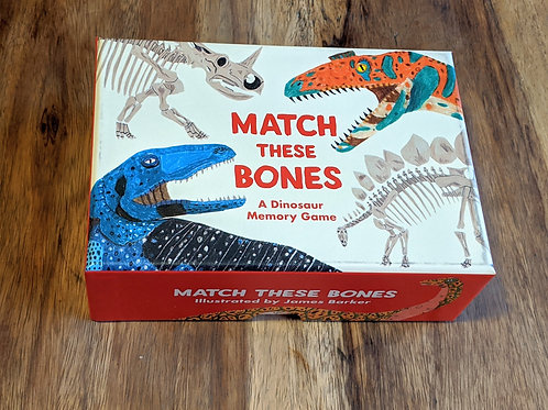 Match these Bones - A Dinosaur memory game by Laurence King Publishing
