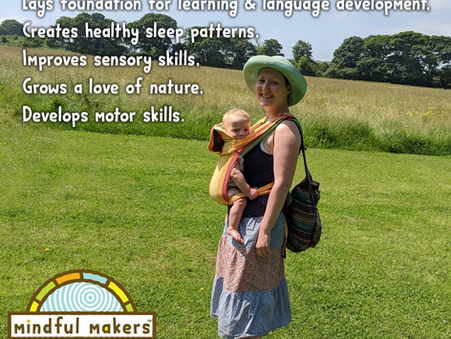 Benefits of being in nature for babies and new parents
