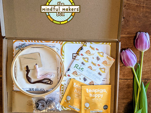 The Mindful Makers Box - March 2021