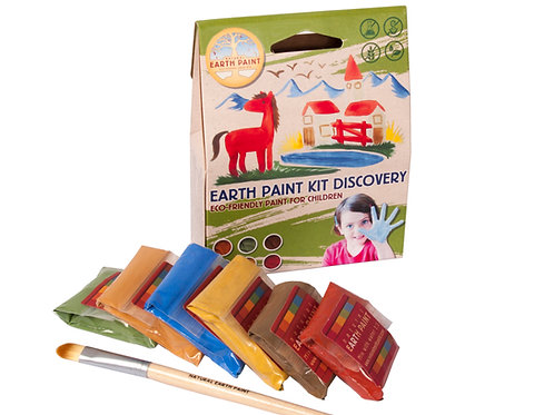 Natural Earth Paints Discovery Kit