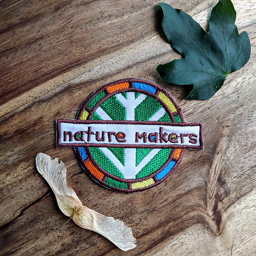 Nature Makers Iron on Patch