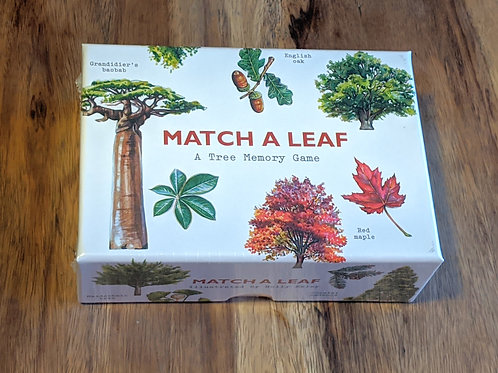Match a Leaf - A tree memory game by Laurence King Publishing
