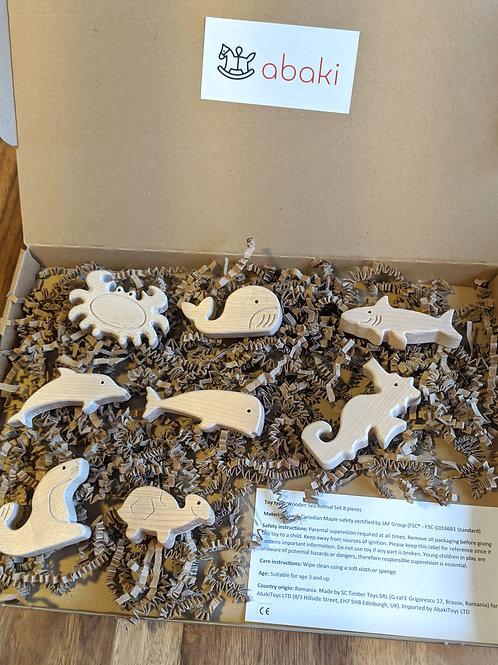 Wooden Sea Animal toys - Abaki® toys