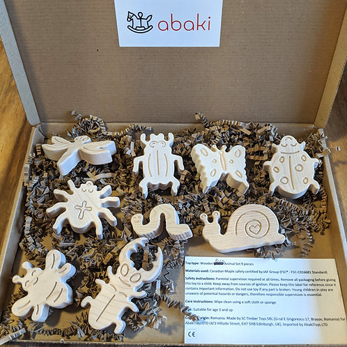 Wooden Bug / Insect toys - Abaki® toys