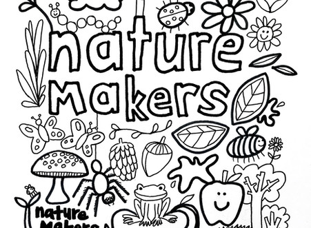 Nature Makers Garden Art Colouring Competition