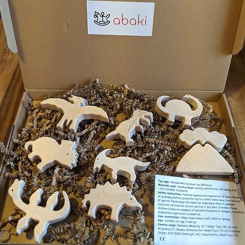 Wooden Dinosaur Animal toys - Abaki® toys