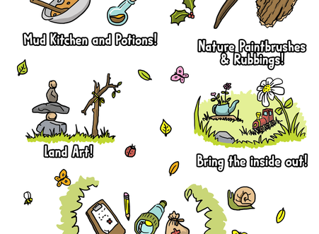 Join our 5 Day Nature Play Challenge for Early Years 2020!