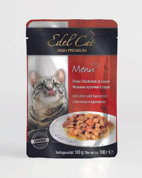 Edel Cat Печень и кролик