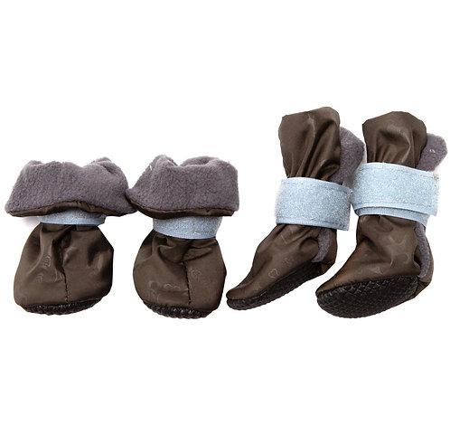 Ботиночки для собак на флисе (подошва ЭВА)