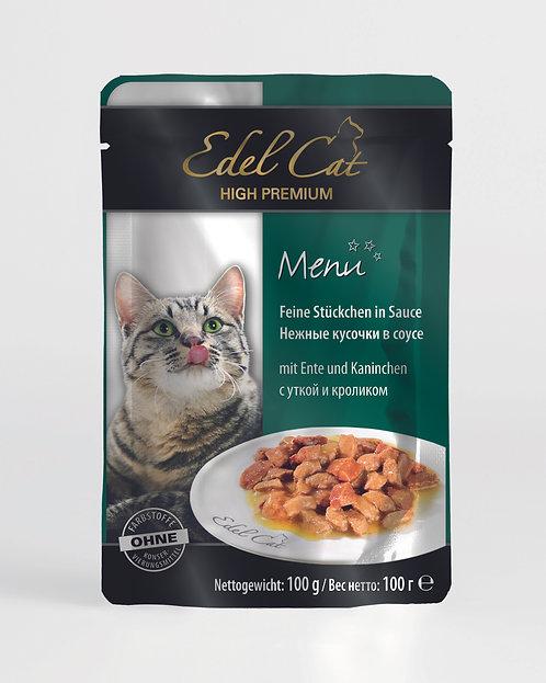 Edel Cat Утка с кроликом
