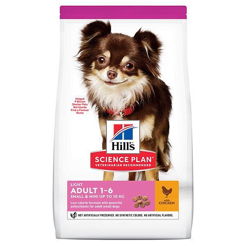 Hill's Science Plan Light для собак мелких пород для поддержания здорового веса