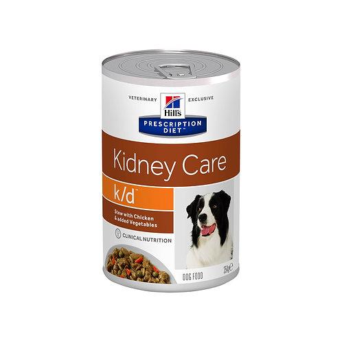Рагу для собак Hill's Prescription Diet k/d с курицей и овощами 354гр
