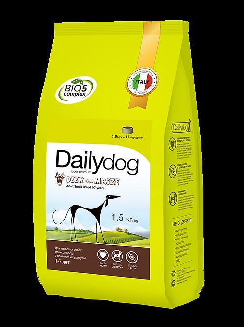 ADULT SMALL BREED Deer&Maize| корм для взрослых собак мелких пород с олениной