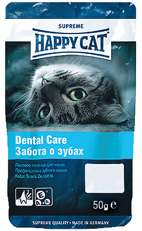 Happy Cat Печенье Dental Care