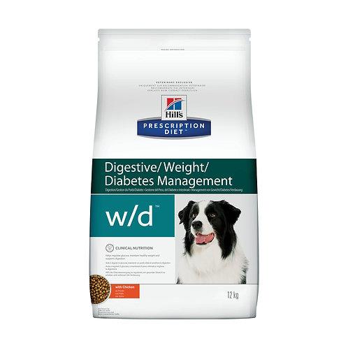 Hill's Prescription Diet w/d для собак с курицей