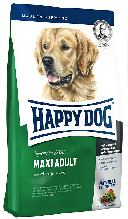 Happy Dog Supreme Fit&Well Maxi Adult 15кг