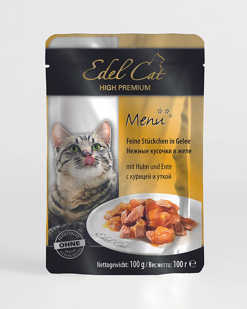 Edel Cat Курица и утка