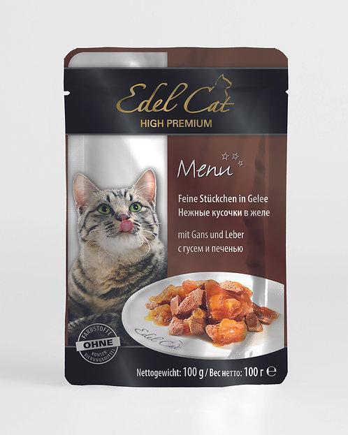 Edel Cat Гусь и печень