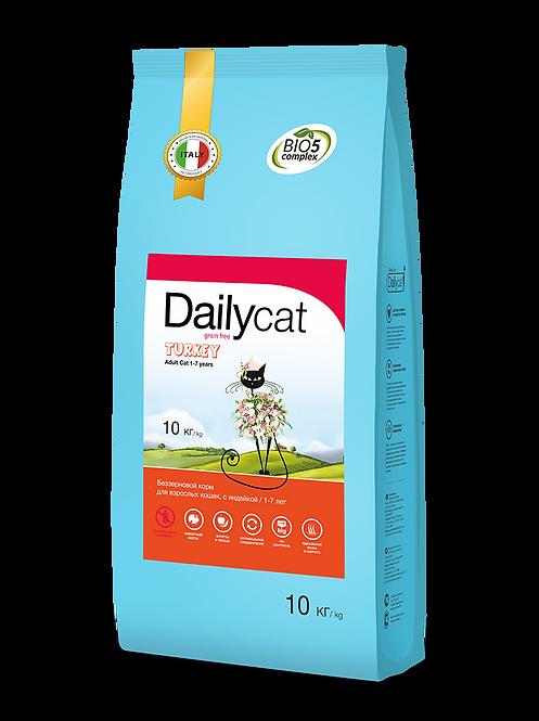 Grain free Turkey| беззерновой для взрослых кошек с индейкой 0,4кг