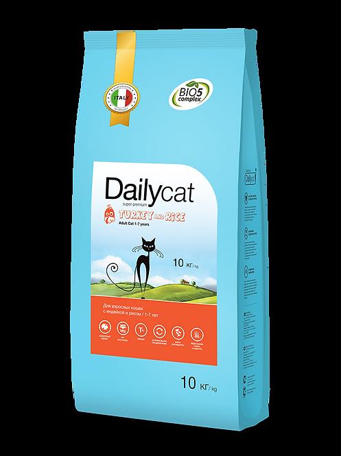 ADULT Turkey & Rice| для взрослых кошек, индейка и рис 0,4кг