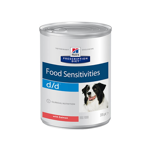 Hill's Prescription Diet d/d Canine Salmon Formula 370гр