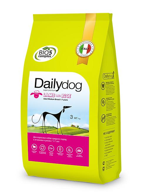 ADULT MEDIUM BREED Lamb&Rice|корм для собак средних пород с ягненком и рисом