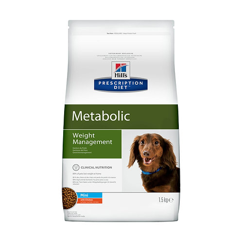 Hill's Prescription Diet Metabolic Canine Mini with Chicken 1,5кг