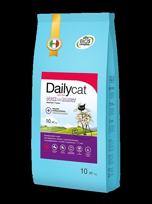 Grain free Duck & Rabbit|беззерновой для взрослых кошек с уткой и кроликом