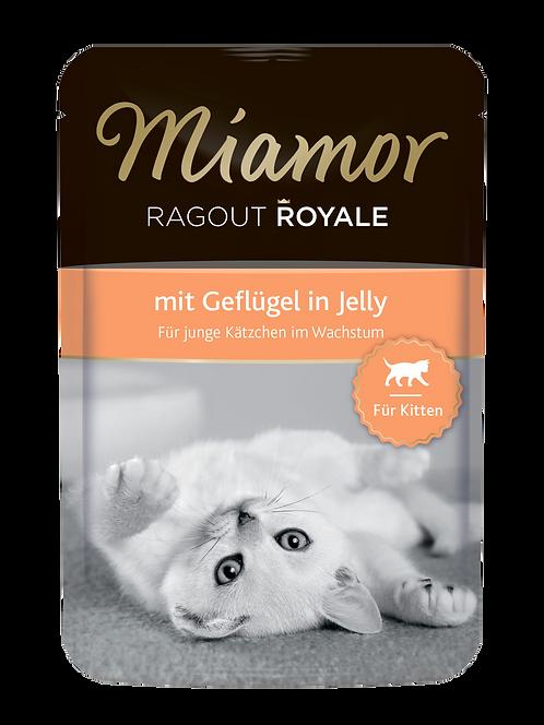 MIAMOR Kitten| Рагу по-королевски с птицей для котят