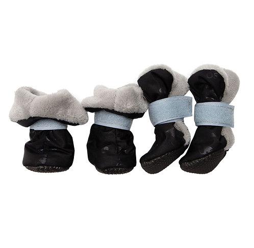 Ботиночки для собак на меху (подошва ЭВА)