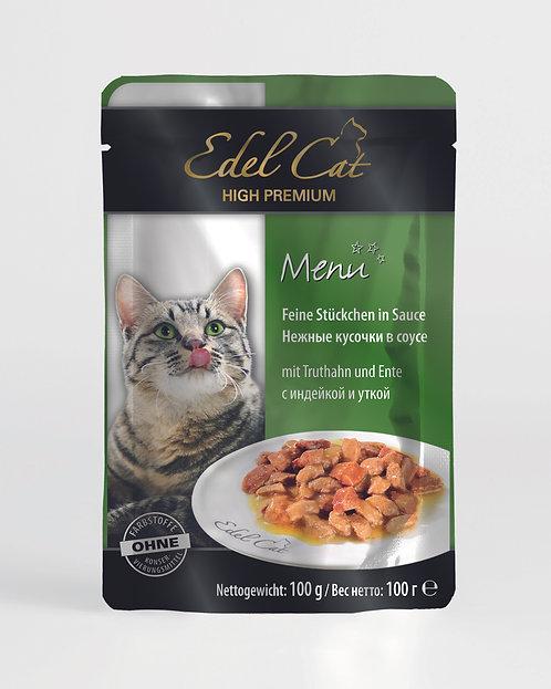 Edel Cat Индейка и утка