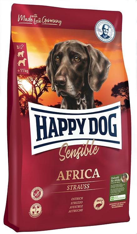 Happy Dog Supreme Sensible Africa с мясом страуса и картофелем