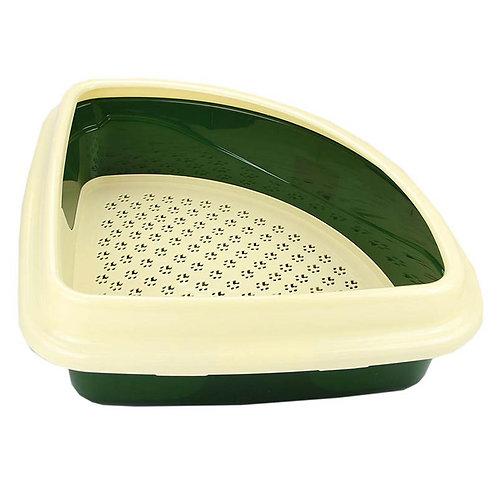 Туалет Триплекс - угловой  для кошек | Dogman