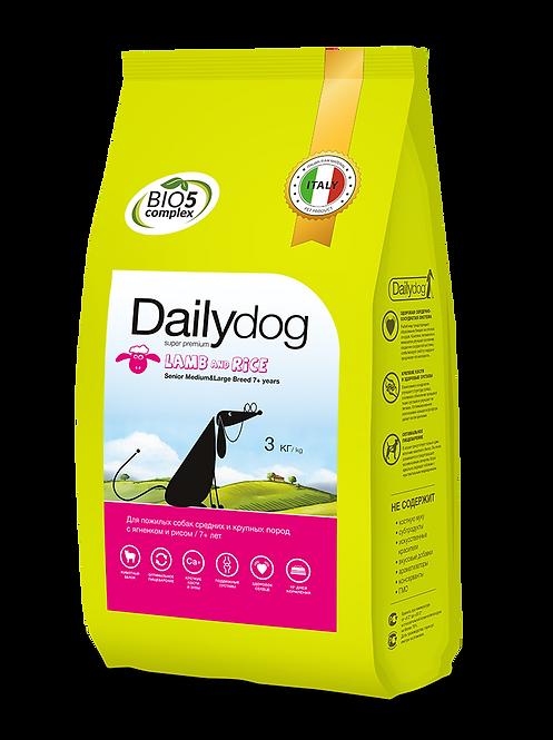 SENIOR DOG LAMB & RICE | корм для пожилых собак с ягненком и рисом