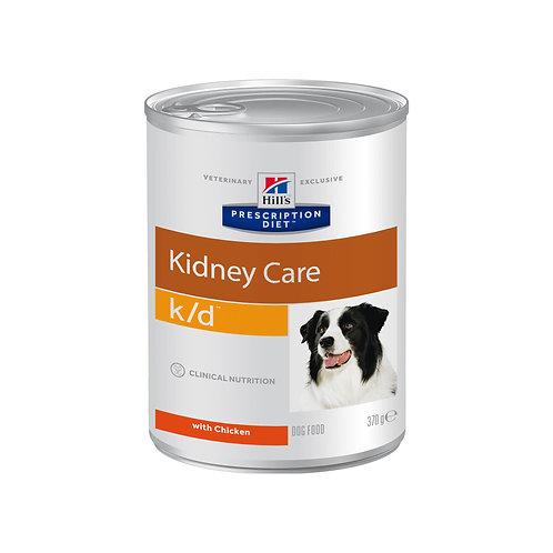 Hill's Prescription Diet k/d для собак, с курицей 370гр
