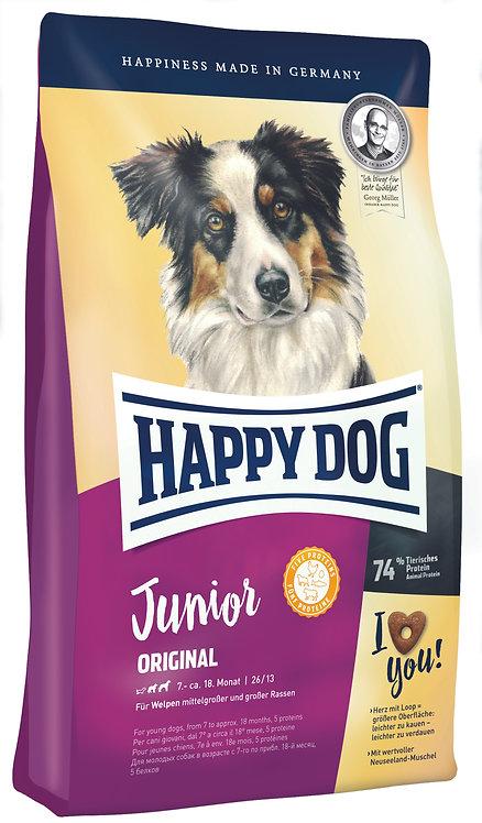 Happy Dog Supreme Junior Original | для щенков с 4 недель с ягненком и рисом