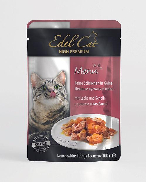 Edel Cat Лосось и камбала
