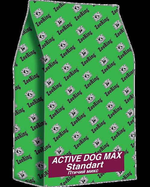 ACTIVE DOG MAX STANDART / Птичий микс / 20 кг