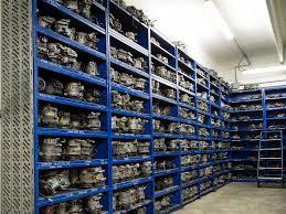 La logistica al servizio del magazzino di fabbrica.
