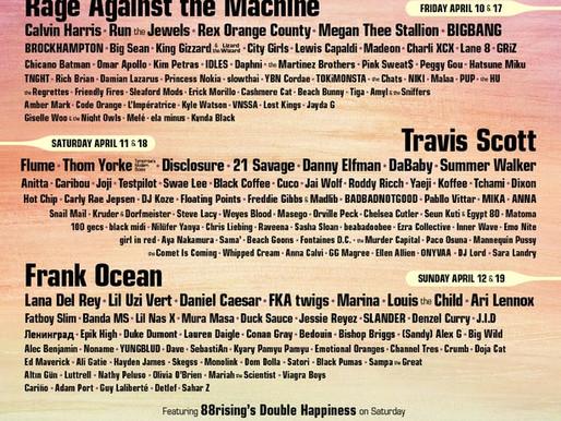 Top 10 de bandas que ver en Coachella 2020