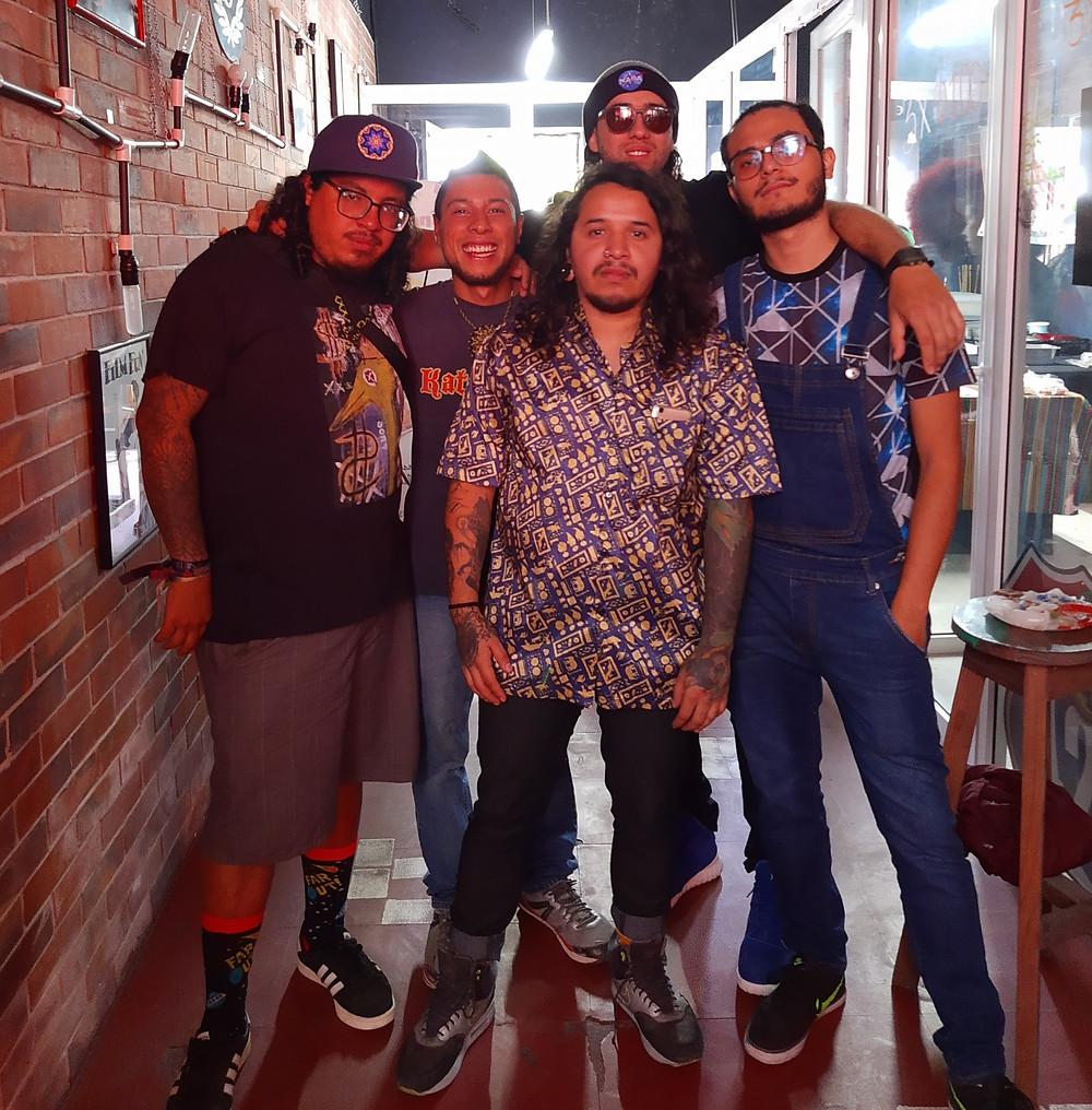 Integrantes grupo musical Vastagos Magna