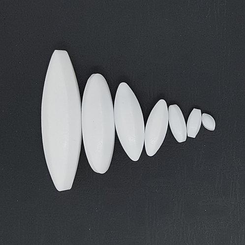 Magnetic Stir Bars: Oval Shape