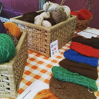 #roundbarnmarket#twostonesfarm#alpacayarn#catskills#sustainability