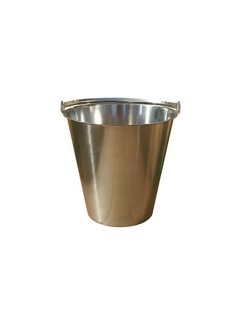 Seau inox 15 litres