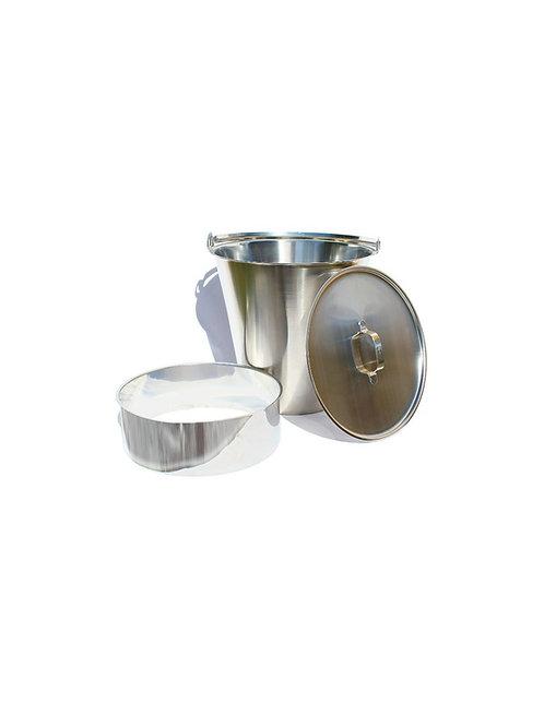 Kit Inox Toilette sèche